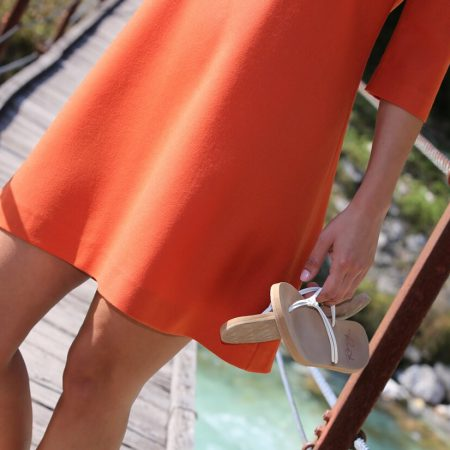Retrokleid Orange