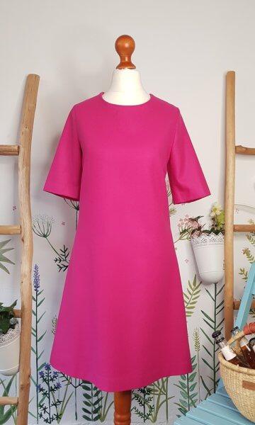 Merinokleid Pink