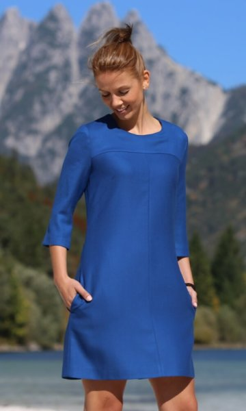 Retrokleid Blau