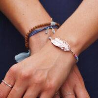 Nachhaltige Kleider Sommerkleider Tencel blau